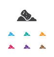 of cleanup symbol on sponge vector image