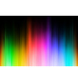 rainbow blur vector image vector image