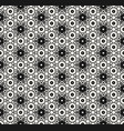 seamless pattern with hexagons ornament vector image vector image