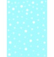Snowstorm Background vector image vector image