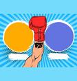 versus letters fight backgrounds comics vector image vector image