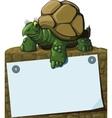 Intelligent Turtle vector image