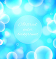 Abstract colorful shining bokeh background vector image vector image