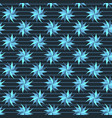 blue stars pattern vector image
