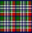 celtic classic check plaid seamles pattern vector image