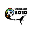 soccer world cup 2010 south africa vector image vector image