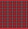 tartan checkered tapestry seamless pattern vector image
