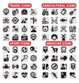 big icons set vector image vector image
