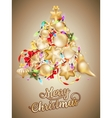 Christmas card with place for text EPS 10 vector image vector image