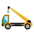 Construction vehicle Machinary graphic design vector image
