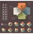 Infographic Element template vector image vector image