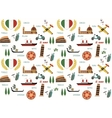 italy pattern vector image vector image