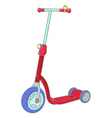 Kick scooter vector image vector image