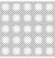 monochrome ring pattern background - abstract vector image vector image