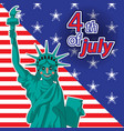 patriot day labor day statue liberty vector image