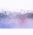pink grey low poly background vector image vector image