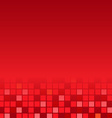 Red Mosaic Poster vector image