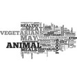 what you need to know about vegetarianism text vector image vector image
