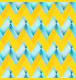 yellow zigzag seamless pattern vector image vector image