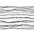 Abstract striped seamless backgroud white black vector image vector image
