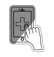 Medicine and technology vector image
