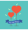 Balloon Hearts vector image