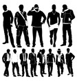 fashion men vector image vector image