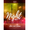 flyer template for night party Abstract vector image vector image