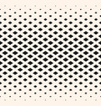 halftone geometric pattern with diamond shapes vector image vector image