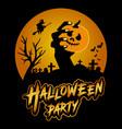 halloween party t shirt design vector image vector image