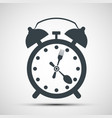 icon alarm clock vector image