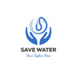 Logo concept save water
