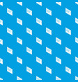 postal envelope pattern seamless blue vector image