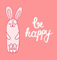 Card Be Happy vector image