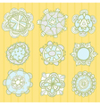 Set of ornamental patterns vector image