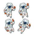 floating cosmonaut set