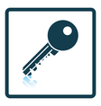Icon of Key vector image