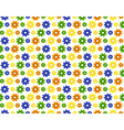 Seamless bright summer pattern with flowers