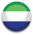 sierra leone flag vector image vector image