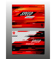 speed layout template design abstract vector image vector image
