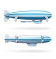 Zeppelin Icons Set vector image vector image