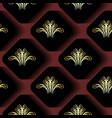 3d geometric modern seamless pattern vintage vector image