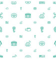 computer icons pattern seamless white background vector image vector image