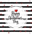 stylish valentines day vector image
