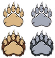 bear paw logo design collection - 4