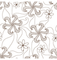 Floral seamless pattern element vector image vector image