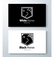 Horse Security Symbol vector image vector image