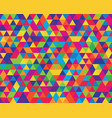 polygon background vector image vector image
