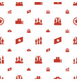 ranking icons pattern seamless white background vector image vector image