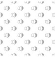 volume up pattern seamless vector image vector image